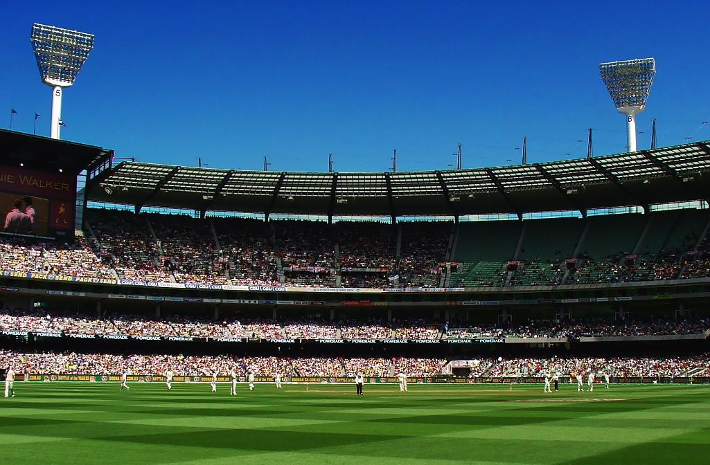 Sports (test cricket in Australia) on Boxing Day